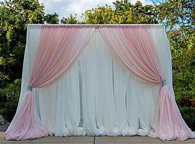 Ceremony backdrops for weddings