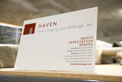 HAVEN Business Card Have any questions for Haven? Email us here