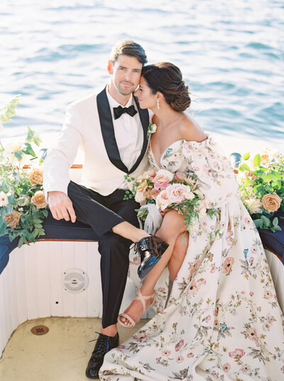 Vogue Weddings Feature with Monique Lhullier Dress and Lauren Fair Photography