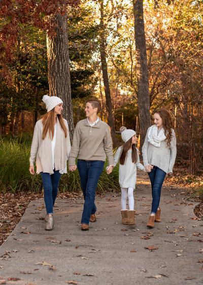 Family session in Tomball Tx