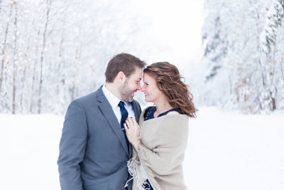 Negaunee Michigan Engagement Photographer - Marie Kelsey Photography