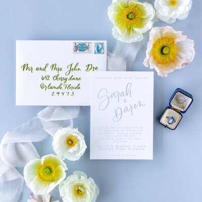 Orlando Wedding Invitations