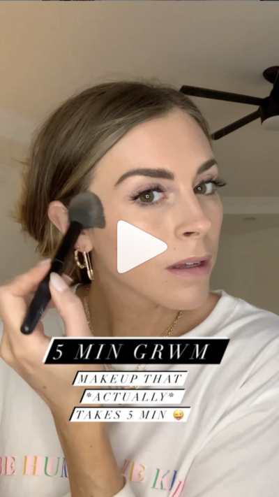 easy 5 minute makeup