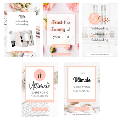 5 Pinterest Templates Preview (1)