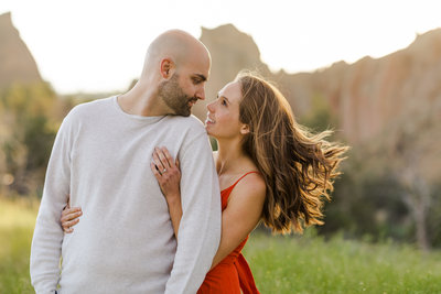Smith Rock Engagement Session - Bend Oregon-90
