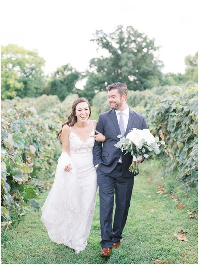 Virginia winery wedding.