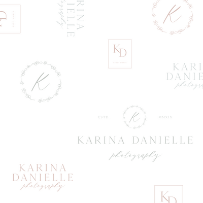 Karina Danielle Photography social media_IG FEED LOGO COLLAGE