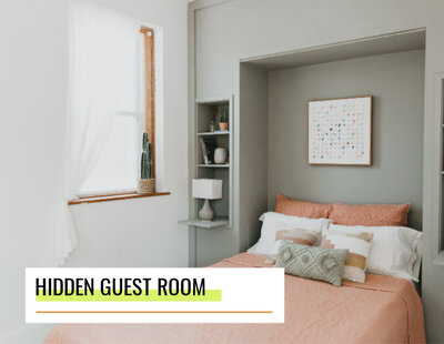 lowes how to create a hidden guest room