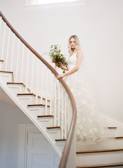 bride gradient and hue kelly hornberger photography
