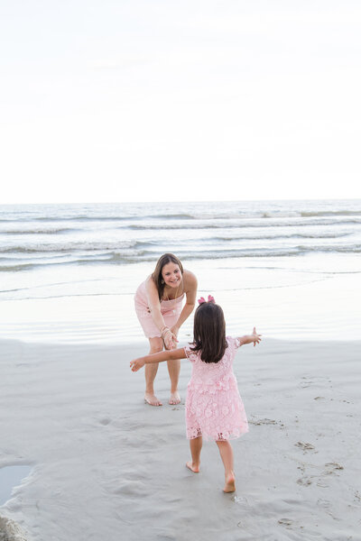 orlando family photographer beach photos