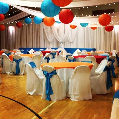 lds_reception_in_cultural_hall_blue_orange_in_church