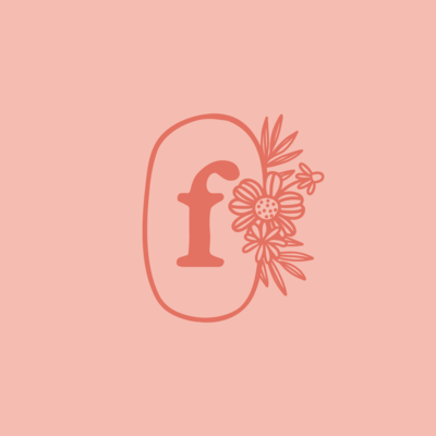 Flourish Flowers & Gifts brand design by Pace Creative Design Studio