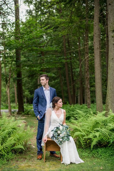 Fern Hill Wedding at McCann School of Art Wedding by Lindsey Markle Photography in summer