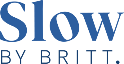 Slow By Britt Logo