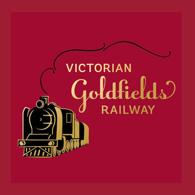 Victorian Goldfields Railway Logo by The Brand Advisory