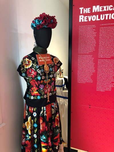 Frida Kahlo Dress Example