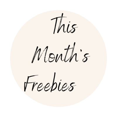 this months freebies