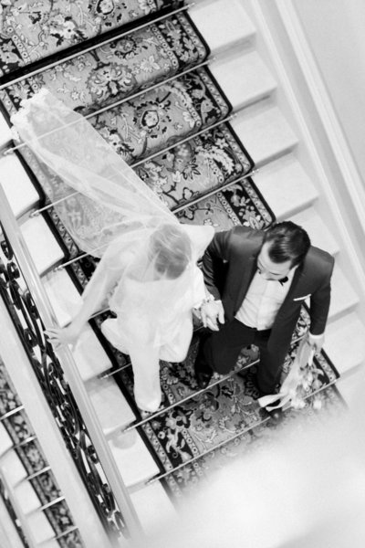 Halifax Wedding Photographer, Jacqueline Anne Photography, captures a couple at the Ritz Paris