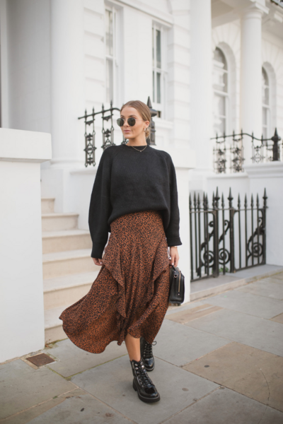 3 Ways To Wear Midi Skirts