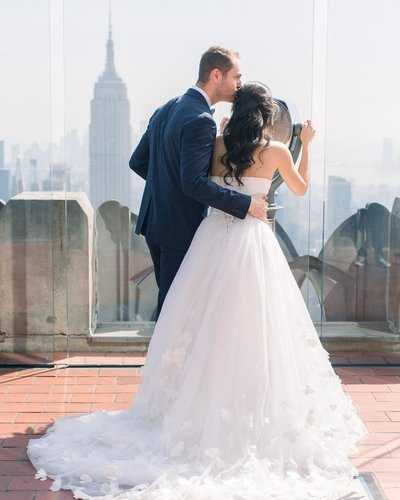 Karina Mekel Photography- Wedding at Top of the Rock NYC Rockefeller Center