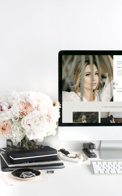 Mountainview - Showit Website Template by With Grace and Gold