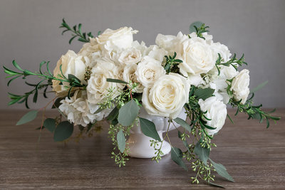 Classic White Medium Centerpiece