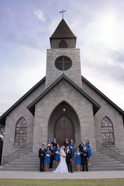 monroe_photographer_a_focused_life_photography_wedding_snellville_united_methodist_church_bridal_party_royal_blue
