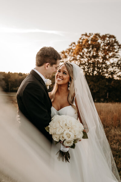 J.Michelle Photography photographs a bride and groom at an atlanta georgia wedding