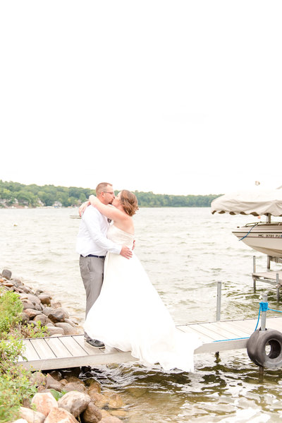 Lake James Indiana Wedding