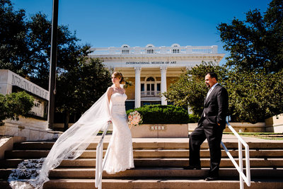 wedding at international museum of art in el paso texas by stepahne lemaire photography
