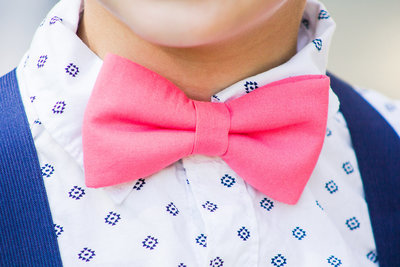 Cincinnati Wedding Photography // Off the Film Photography // Pink Bowtie