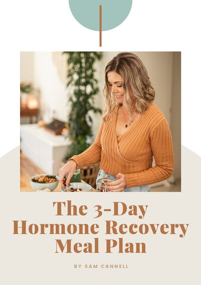 Hormone Recovery Meal Plan