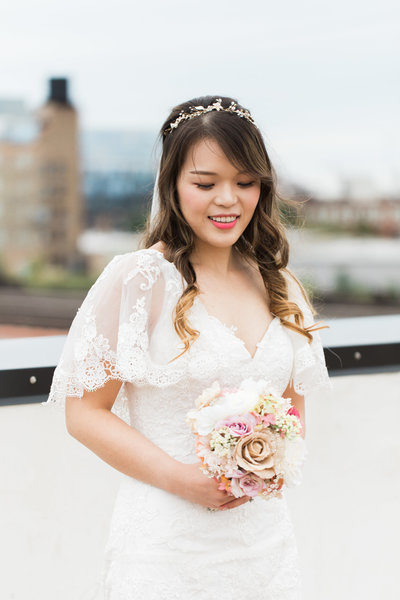 Chicago fine art bride