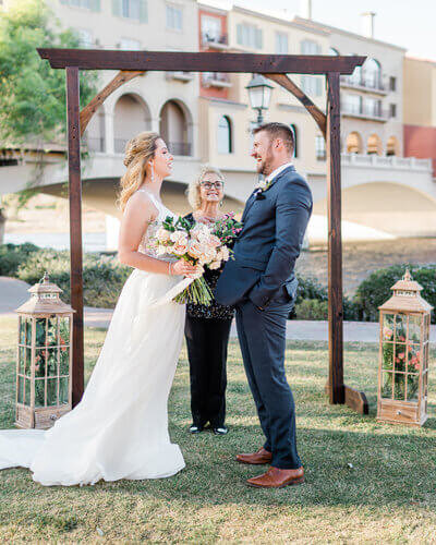 Las Vegas Wedding at Lake Las Vegas