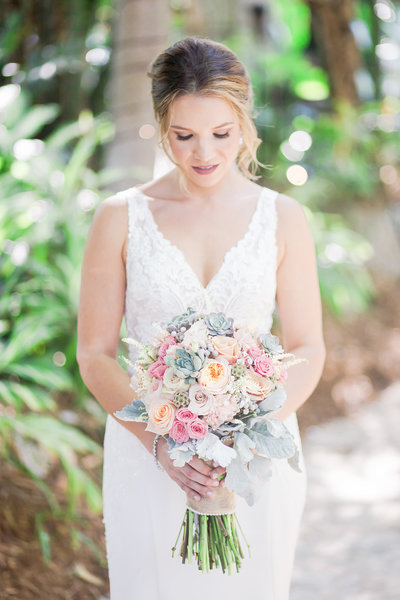 Sundy House Bride by Palm Beach Photography