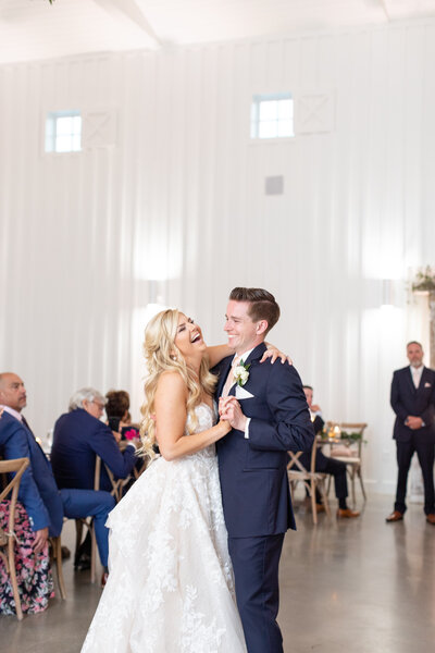 The Farm House Houston Wedding Photography First Dance