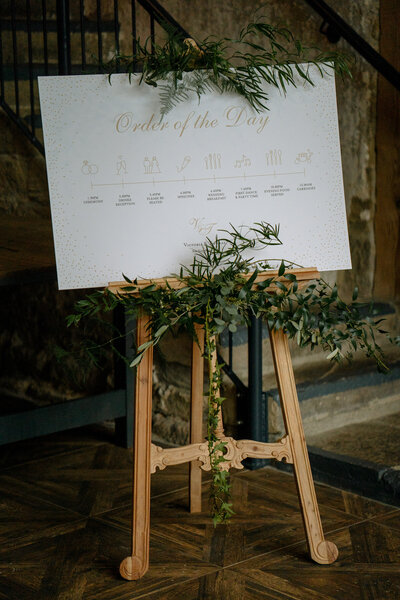 Table plan at Wharfedale Grange Wedding barn