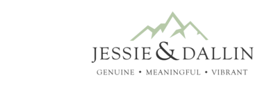 Jessie and Dallin Photography Logo April 2020 long for website png