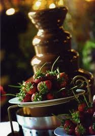 chocolate fountain C