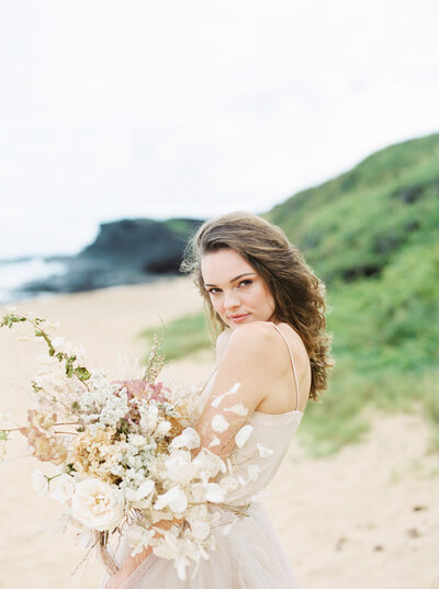 00119- Fine Art Film Hawaii Destination Elopement Wedding Photographer Sheri McMahon