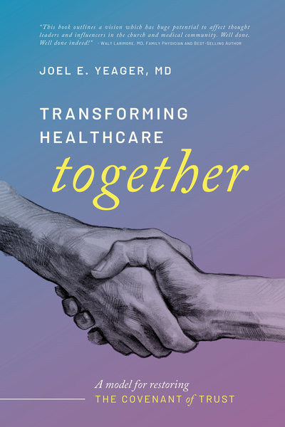 Transforming Healthcare Together Ebook Cover