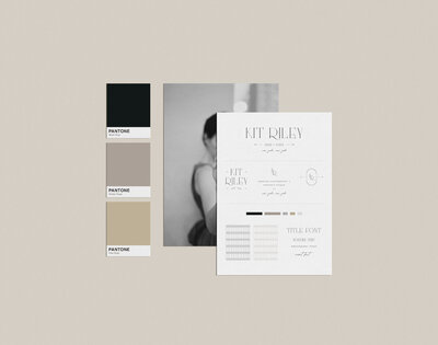 Semi Custom Brand Design by With Grace and Gold