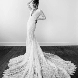 Varca Bridal lace wedding dress trunk show page
