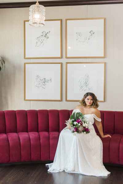 "alt=""plus size bride"""