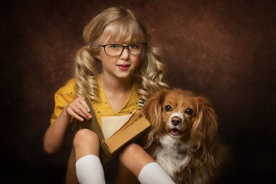 Child-Dog-Fine Art-Studio.jpg-min