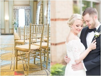 ceremony chairs at The Westin Poinsett