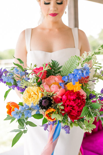 Colorful Ft. Worth Wedding, Planned by Katie Frost Weddings