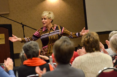 Katie Dilse Keynote Breakout Speaker Speaking Motivational Corporate Conference Midwest Event18