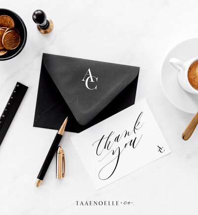 Taaenoelle + Co. Brand Stationery