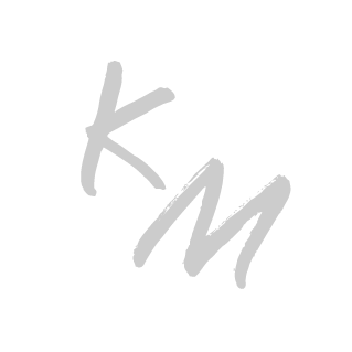 KM final logo Gray